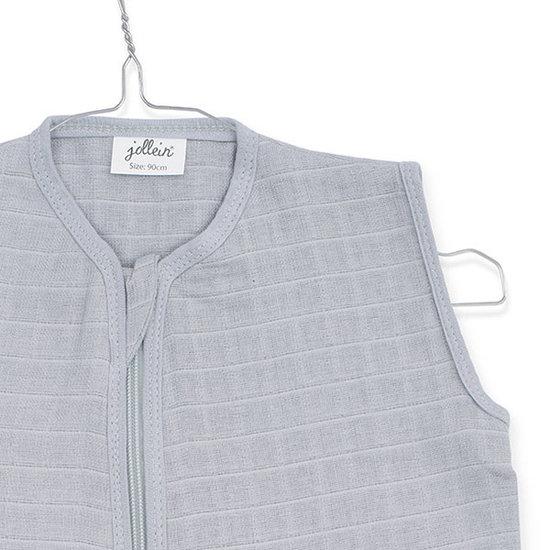 Jollein Jollein Musselin Sommerschlafsack 90cm Soft grey