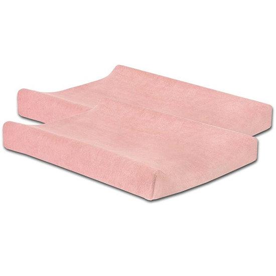 Jollein Jollein waskussenhoes badstof Soft pink 2pack