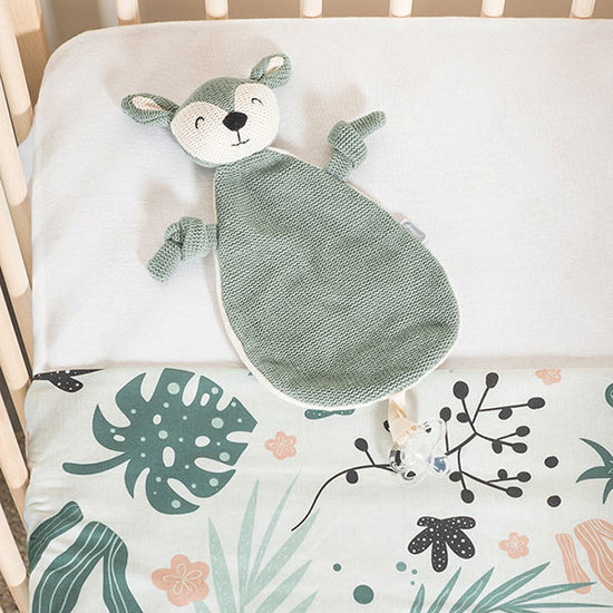 Jollein Jollein baby comforter Deer Ash green