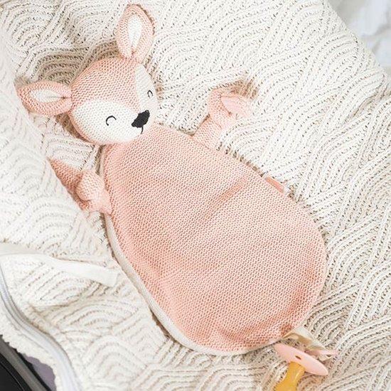 Jollein Jollein Schnuffeltuch Deer Pale Pink