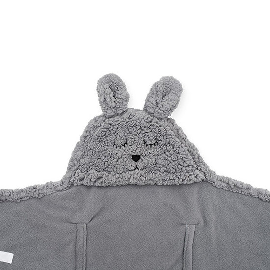 Jollein Jollein Wickeldecke Bunny Storm grey
