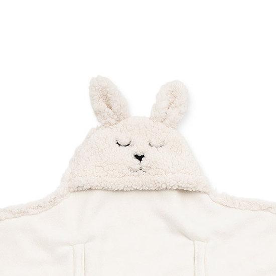 Jollein Jollein wikkeldeken Bunny Off-white