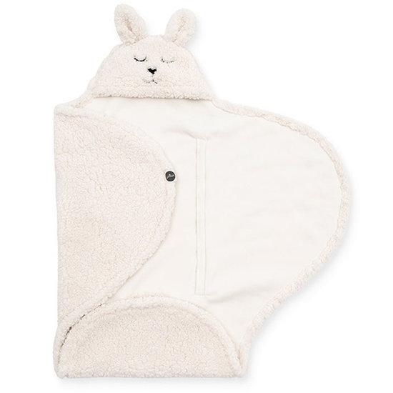 Jollein Jollein Wickeldecke Bunny Off-white