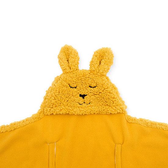Jollein Jollein Wickeldecke Bunny Mustard