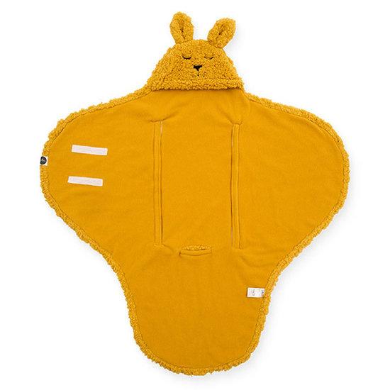 Jollein Jollein footmuff Bunny Mustard