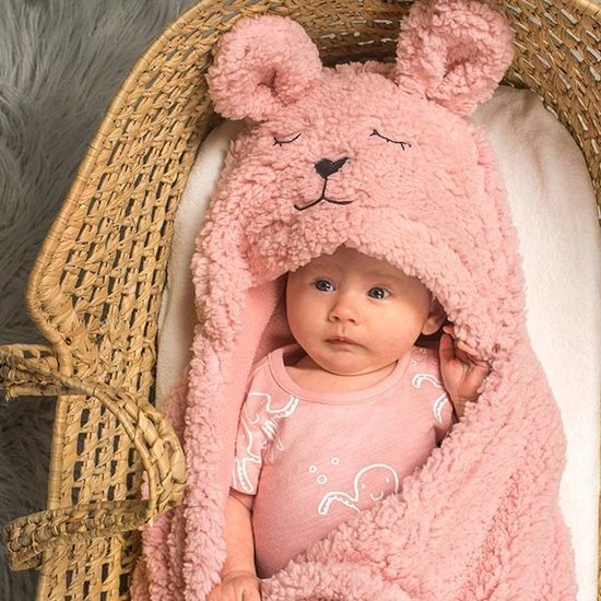 Jollein Jollein Wickeldecke Bunny Pink