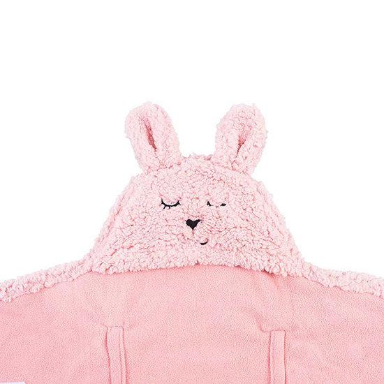 Jollein Jollein wikkeldeken Bunny Pink