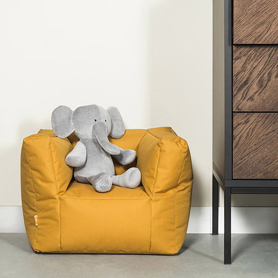 Jollein Jollein beanbag - kids sofa Mustard