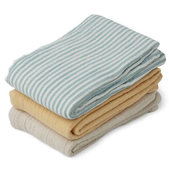 Liewood Liewood langes bébé Line Sea blue stripe mix