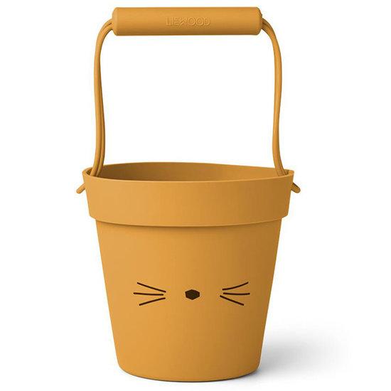 Liewood Liewood Linda seau Cat Yellow mellow