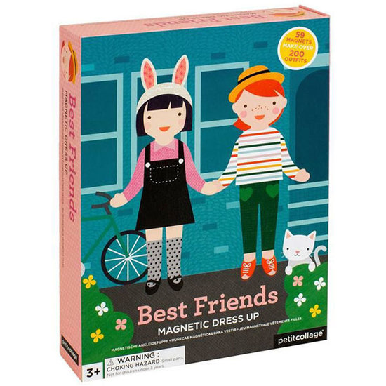 Petit Collage Magneetboek Dress Up Best Friends - Petit Collage