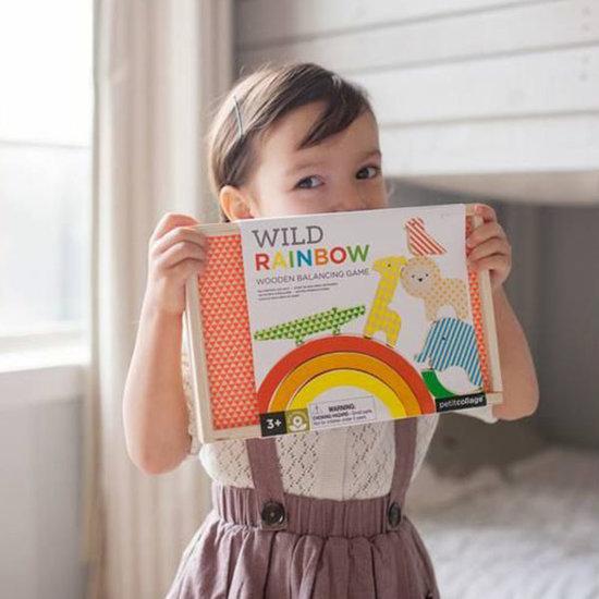 Petit Collage Jeu d'équilibre Wild Rainbow - Petit Collage