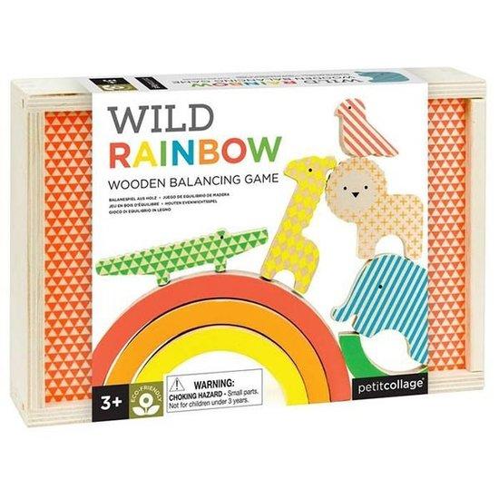 Petit Collage Balansspel Wild Rainbow - Petit Collage