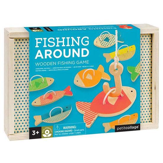 Petit Collage Jeu de pêche Fishing Around - Petit Collage
