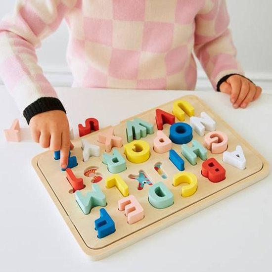 Petit Collage Petit Collage houten alfabet puzzel