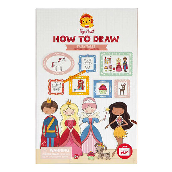 Tiger Tribe How to draw Fairytales - Tiger Tribe