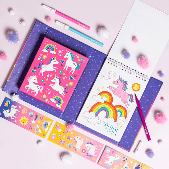 Tiger Tribe Tiger Tribe colouring set - unicorn magic