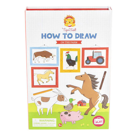 Tiger Tribe How to draw On the farm - Tiger Tribe