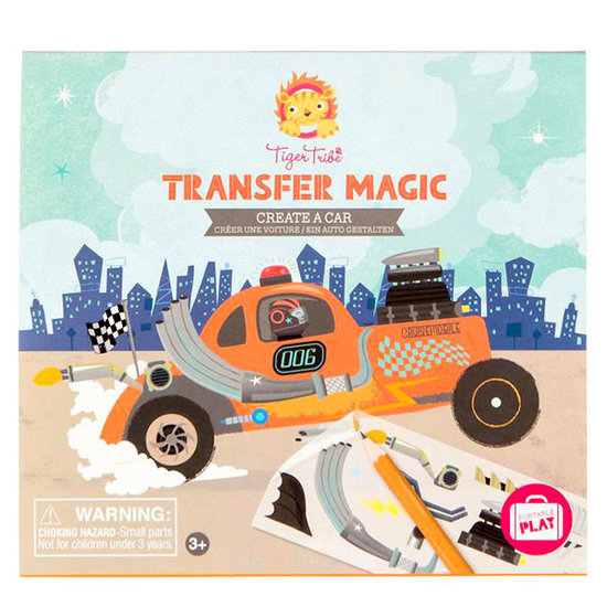 Tiger Tribe Tiger Tribe transfer magic create a car