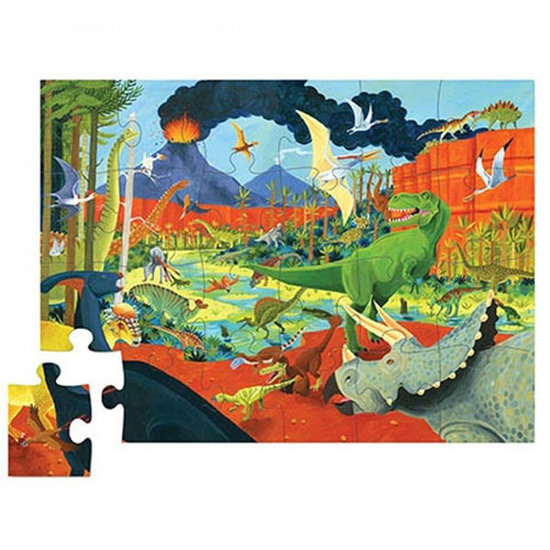 Crocodile Creek Crocodile Creek puzzel dinosaurus land 24st