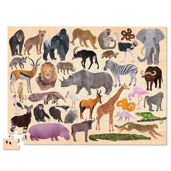 Crocodile Creek Crocodile Creek puzzle 36 wild animals 100pcs