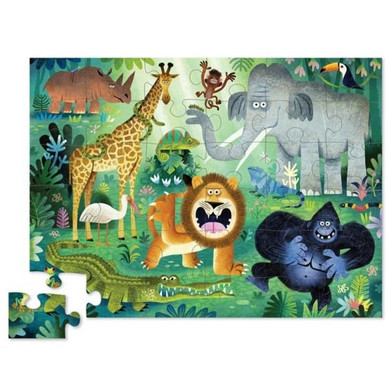 Crocodile Creek Crocodile Creek puzzle Very Wild animals 36pcs