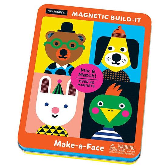 Mudpuppy Mudpuppy magnetic tin Make a face