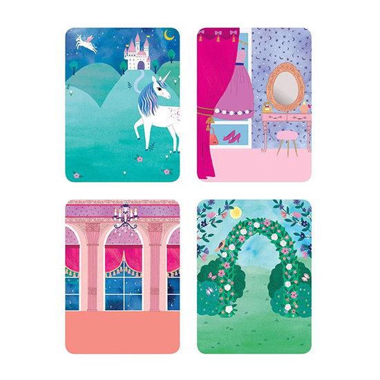 Mudpuppy Mudpuppy magneetboek Dress Up Prinses