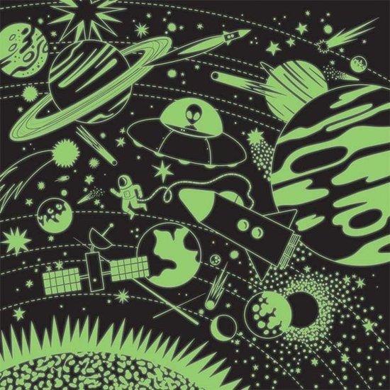 Mudpuppy Mudpuppy Glow-In-the-Dark puzzel Ruimte 500st