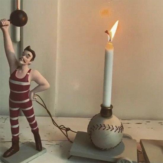 Konges Slojd Konges Slojd verjaardagstrein Strong man