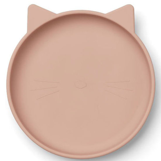 Liewood Liewood silicone borden Olivia 2 pack - rose mix