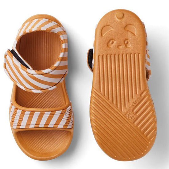 Liewood Water shoes Blumer Stripe mustard - Liewood