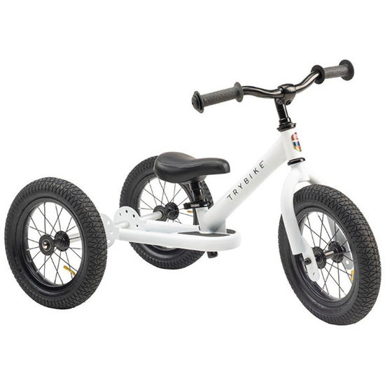 Trybike Loopfietsen Trybike Steel 2-in-1 balance bike White