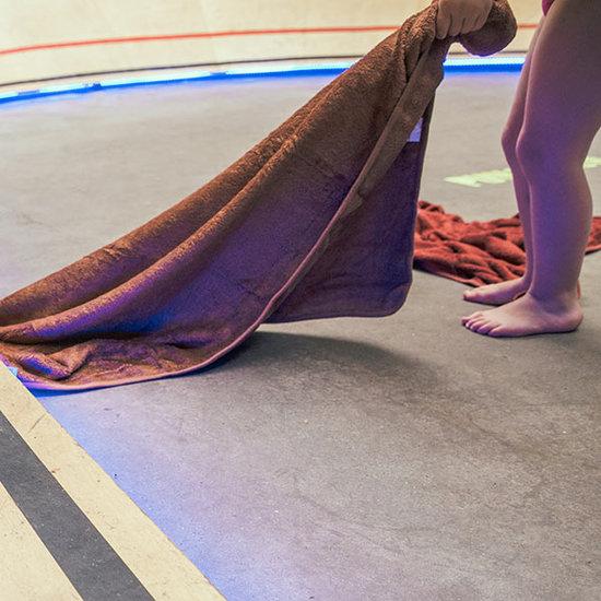 Timboo Badcape Hazel brown 74x74cm - Timboo
