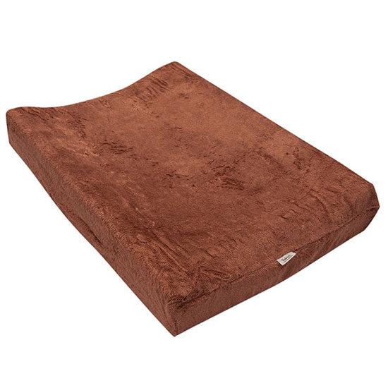 Timboo Aankleedkussenhoes Hazel brown 67x44cm - Timboo