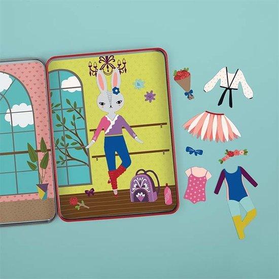 Mudpuppy Mudpuppy Magnetbuch Dress Up Woodland ballet