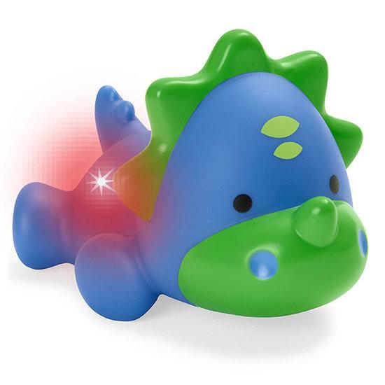 Skip Hop Skip Hop Light Up Bath Toy - Dino badspeelgoed