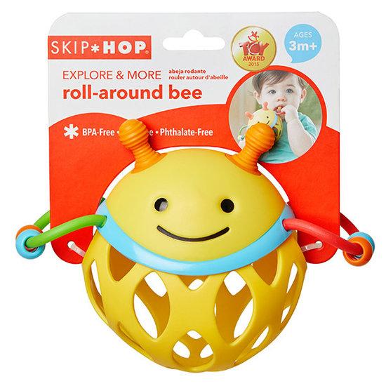 Skip Hop Skip Hop Roll Around Rattle bee