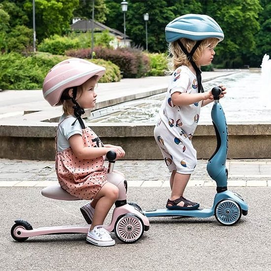 Scoot and Ride Scoot and Ride loopfiets Highwaykick 1 - Rose