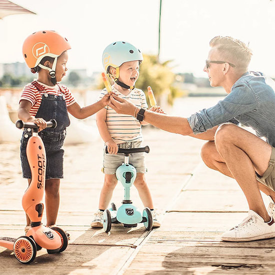 Scoot and Ride Scoot and Ride Roller Highwaykick 1 - Peach