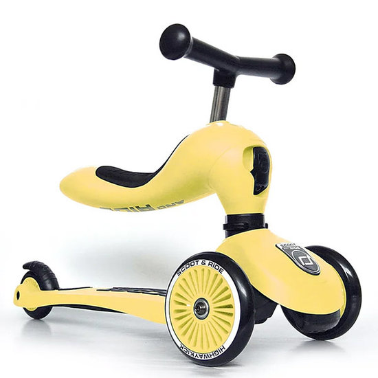 Scoot and Ride Scoot and Ride loopfiets Highwaykick 1 - Lemon