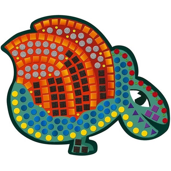 Janod speelgoed Janod knutselpakket mozaïek Dinosaurussen