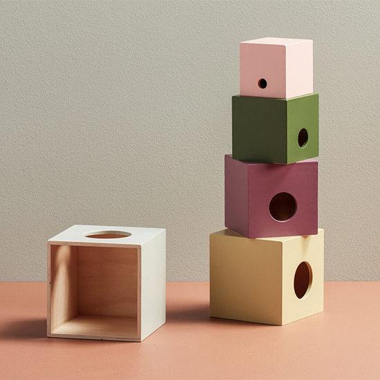 Kid's Concept Kids Concept stapelblokken hout 5st - Edvin
