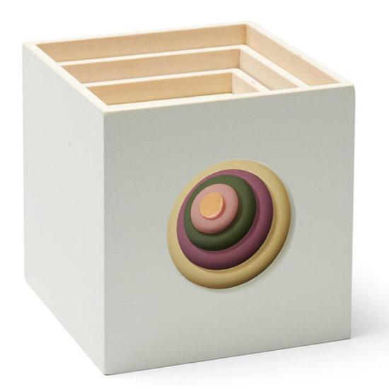 Kid's Concept Kids Concept cubes wood 5pcs - Edvin