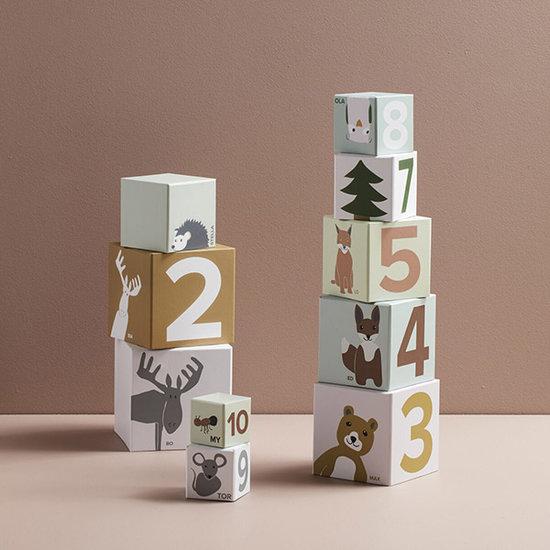 Kid's Concept Cubes Edvin 10pcs - Kids Concept