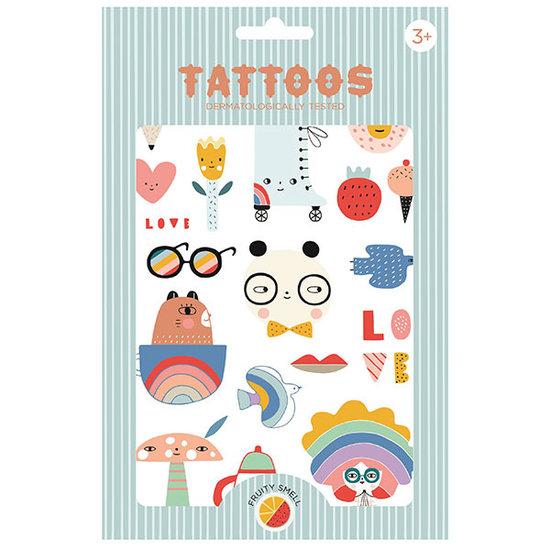 Petit Monkey Petit Monkey Tattoos Panda Love +3 Jahren