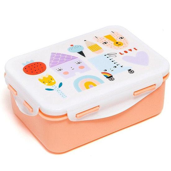 Petit Monkey Lunch box Skate and house - Petit Monkey
