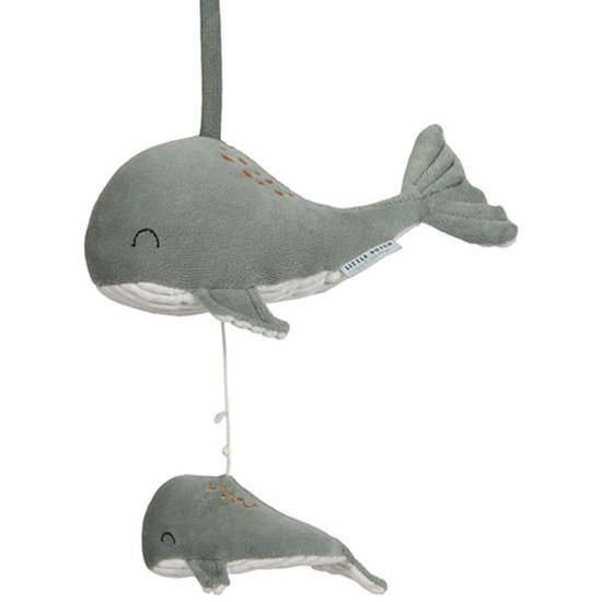 Little Dutch Music box whale Ocean mint - Little Dutch