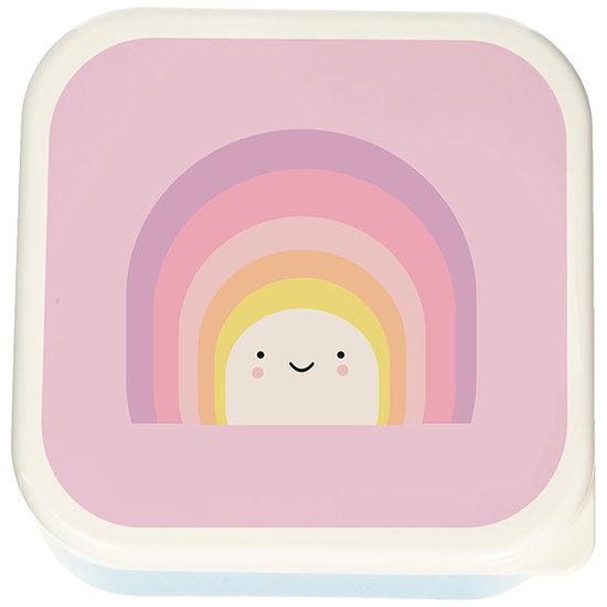 Eef Lillemor Brotdose 3er Set - Aloha Rainbow - Eef Lillemor