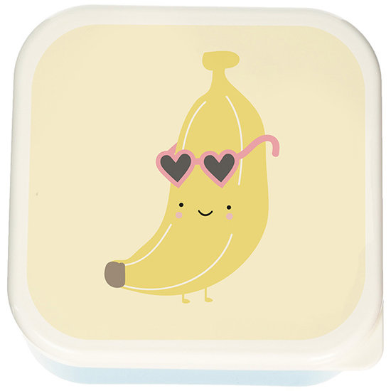 Eef Lillemor Brotdose 3er Set - Aloha Banana - Eef Lillemor